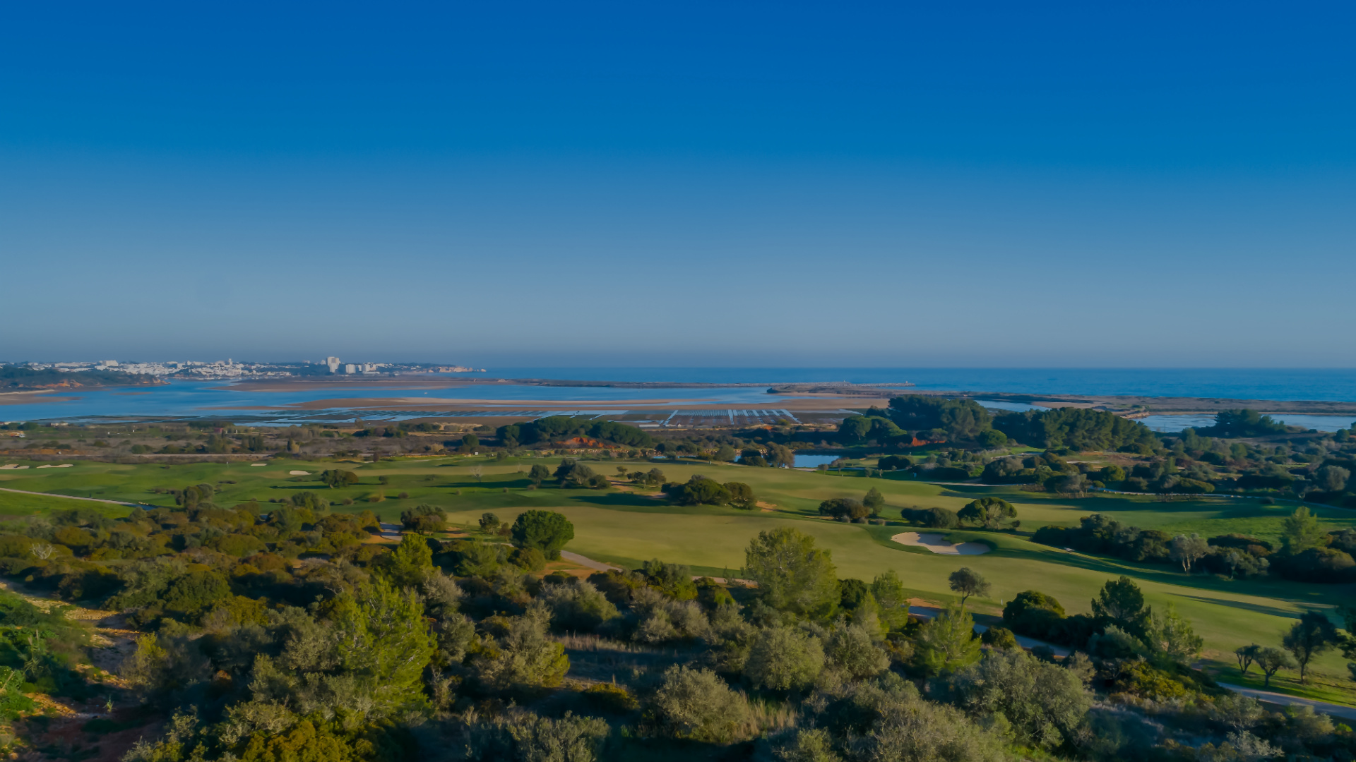 Golf course at Palmares surrounded by trees