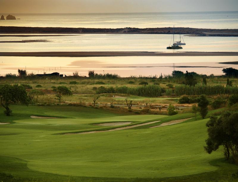 Golf course at Lagos, Algarve