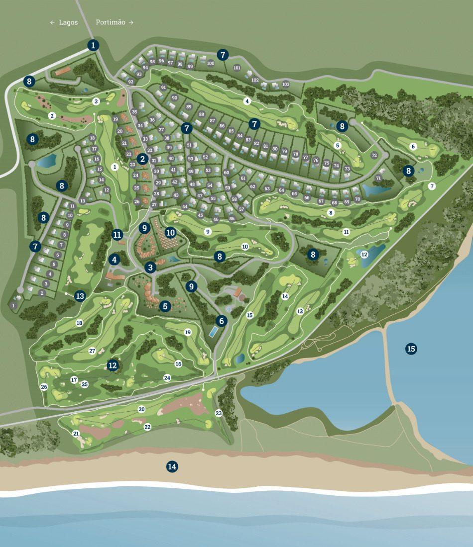 Masterplan Palmares Resort