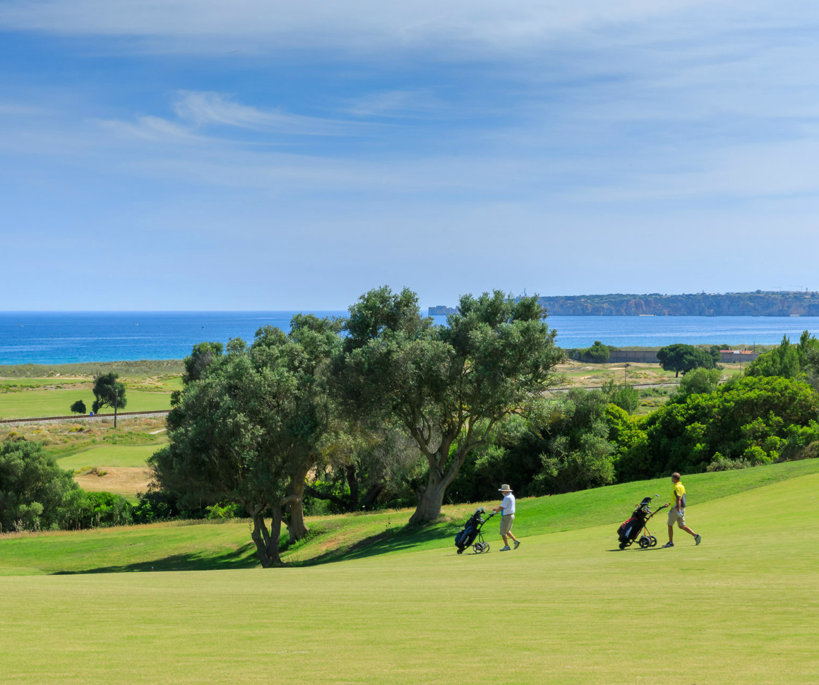 two golf players at Palmares