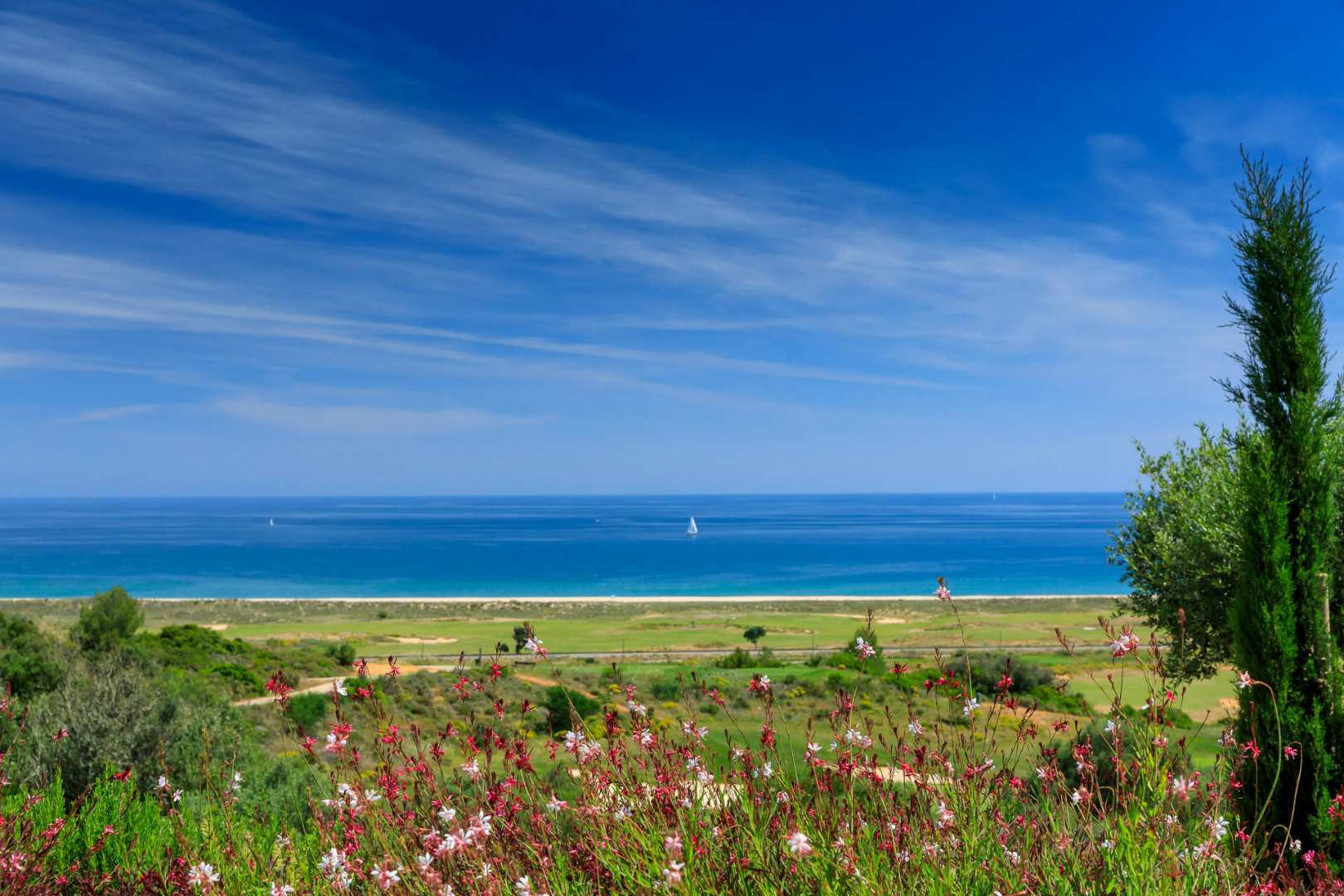 Beach near Palmares