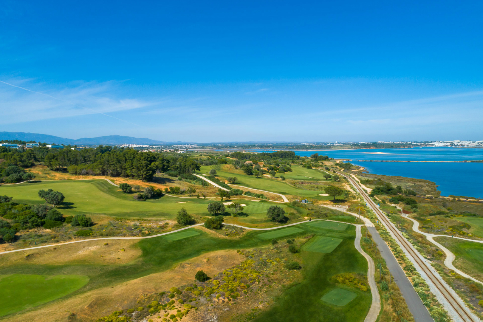 Aerial view of Palmares golf course
