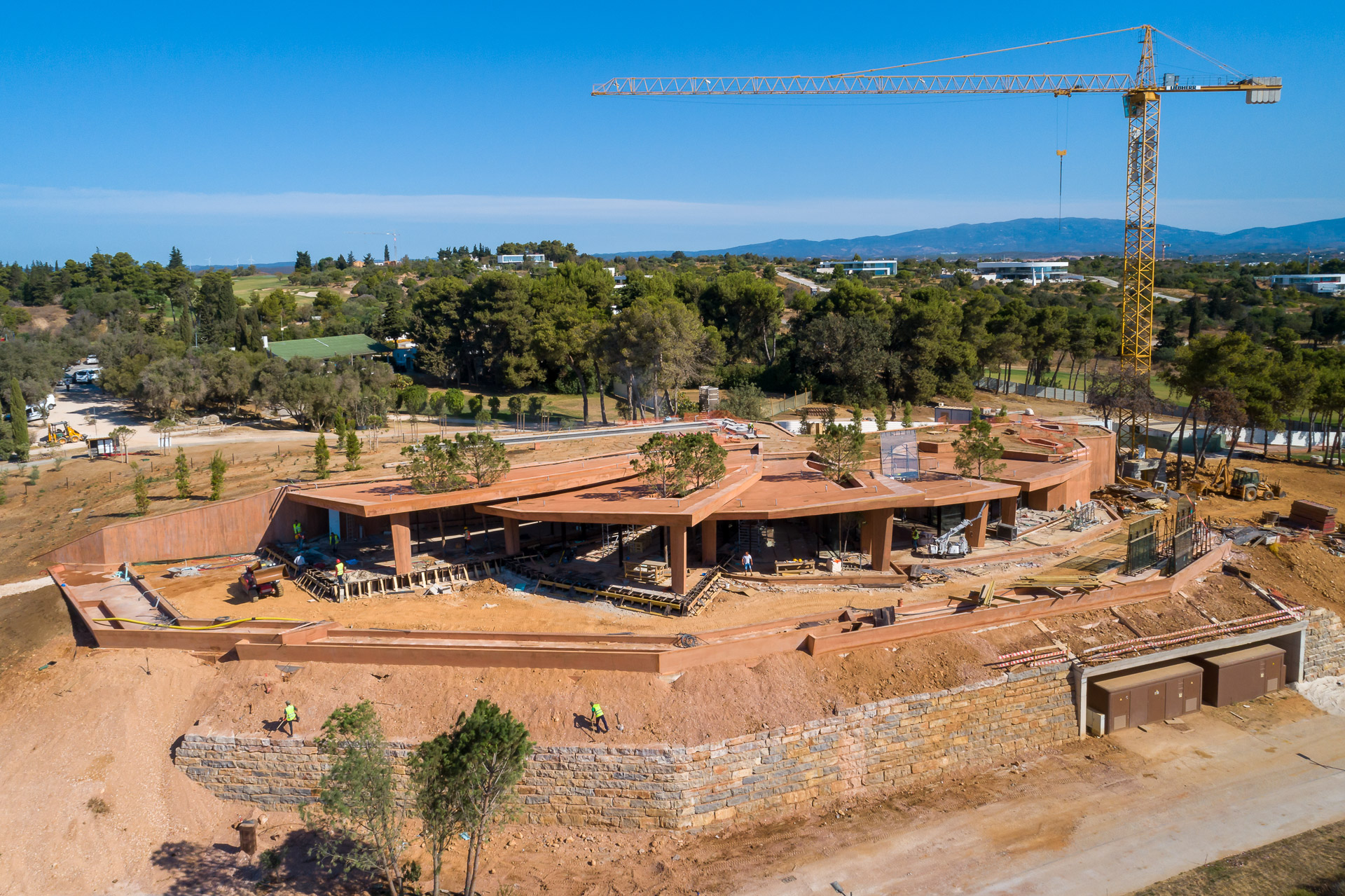 Palmares ClubHouse under construction