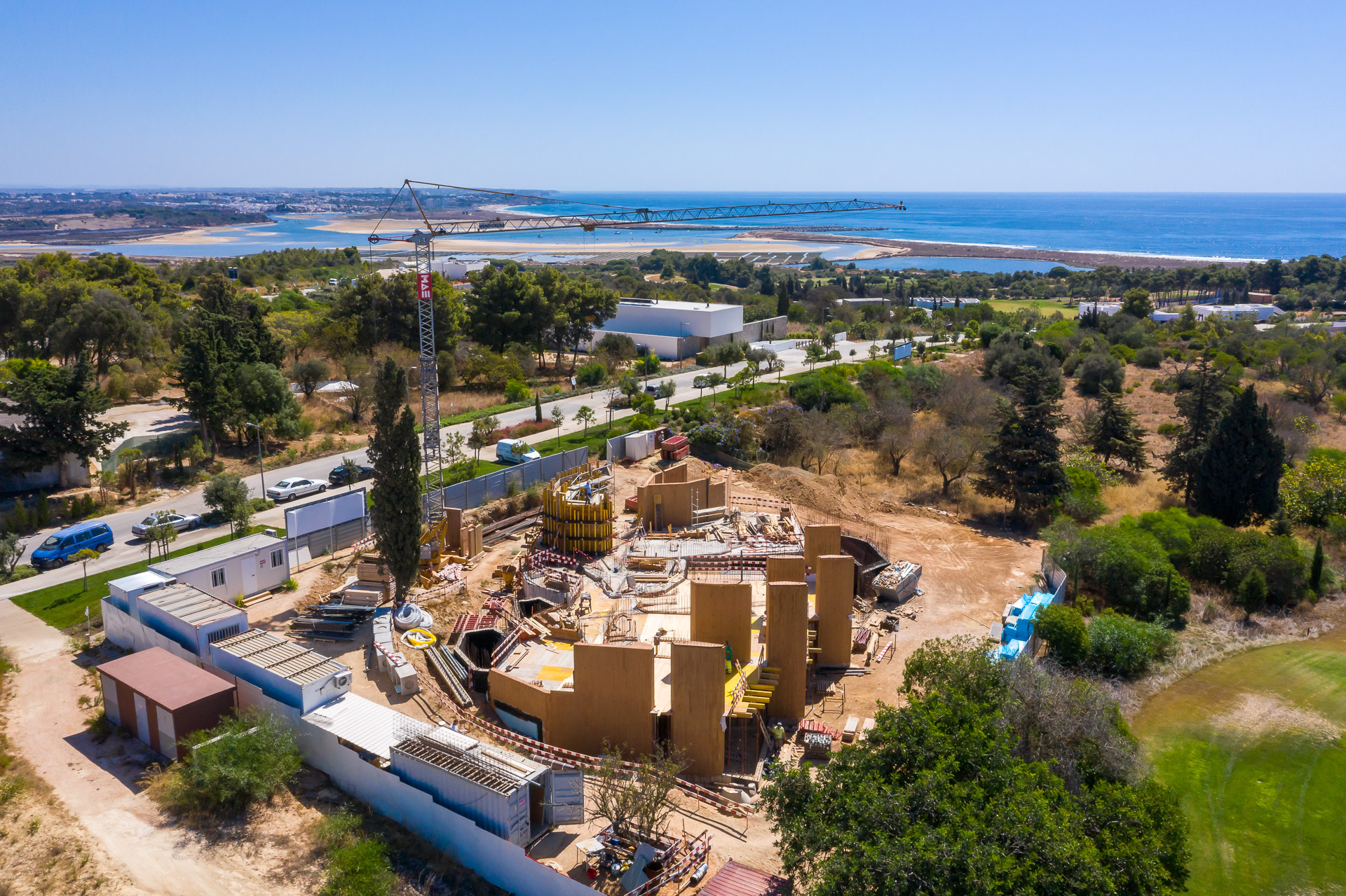 Palmares resort villa 19 under construction